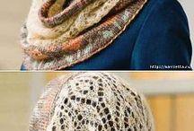 snuda and scarfs/снуды и шарфы