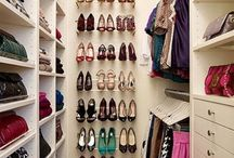 Project Closet / Renovation upgrade ideas for master bedroom walk-in closets / by Kelly Q Anderson