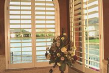 Window Treatments / This board is about window treatments like blinds, drapes, shutters and curtains.  They ad to the inside of the home along with privacy.
