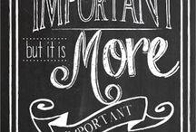 Chalkboard Ideas / by Kayla Henley