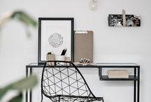 ZAXE INSPIRATION┃Bureau / Des tonnes d'idée déco pour créer un bureau qui sort de l'ordinaire!