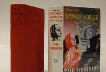 Sydney Horler dust jacket books