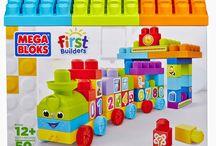 New Mega Bloks First Builder Item arrival-1-2-3 Learning Train!