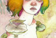 Ilustrações Izabella Cordeiro / Hey! Sou ilustradora! Confira alguns dos meu trabalhos, quem sabe você não se apaixona e faz uma encomenda? www.izcordeiro.com