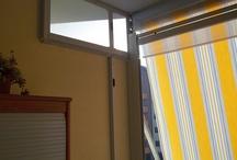 Zanzariera plissè e tenda veranda estiva e invernale