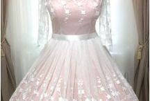svatební retro šaty / Originální svatební retro šaty šité na míru.
