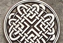Celtic knots and jewelry