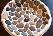Salzteig und Keramik
