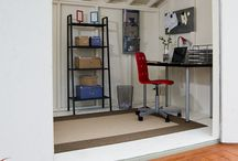 Shed Office for Backyards / Make your office commute a matter of steps - not miles with an office shed. For many professions, working from home is a possibility thanks to technology. To compensate for the lack of space or distractions inside their home, many individuals are installing sheds in their backyard and transforming them into a home office. Office sheds can save you thousands and give you the freedom to customize to your specific needs.