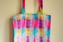 Tie Dye Tote Bags for Sale
