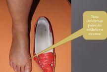 Vbočené palce u nohou - metody pro nápravu