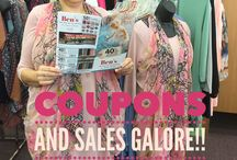 SALES!! COUPONS!!