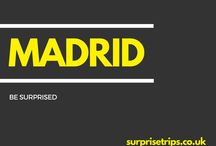MADRID / Fun tips, tricks and trips should you find yourself in the Spanish capital of Madrid. Would you like your next trip abroad to be a complete surprise? Find out more about our latest project at http://surprisetrips.co.uk/
