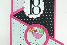Numbered birthday cards