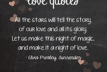 Love Quotes / Love quotes perfect for weddings!