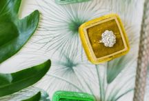 Yellow and green wedding