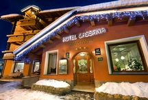 Hotel Cassana Livigno / Hotel Cassana is a familiar hotel managed directly by Galli - Andreola Family.  Within the hotel there is a friendly and homely atmosphere which will give you an unforgettable holiday.  It is located in a quiet and sunny place, directly to the new Cassana Gondola, over Carosello side, near to the center at just 200 mt. to the beginning of the pedestrian area. Besides, in front of the Hotel, you will find also the FREE Urban-Ski-Bus-Stop.