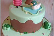 Sarah and Duck cakes