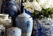 Blue & White design