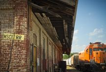 Still Active Mississippi Central Railroad Freight Depot