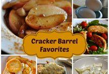 Cracker Barrels Recipes