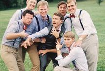 Style for the Aisle | Groom and Groomsmen / by Waterfront Functions