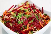 Saláták és egyéb ételek-