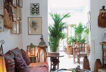 Boho Living Rooms