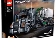 Lego TECHNIC Kit 42078 - Mack Anthem/LR - Build