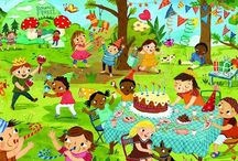 thema feest / kinderboekenweek 2014