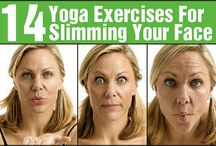Yoga / Slim face exercises