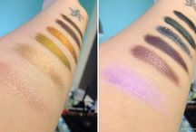 Victorian Disco Cosmetics Swatches / by Luna Gray