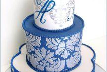 Torty Královská modrá
