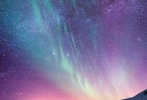 The magical and mysterious / E.g: Aurora Borealis and stary nights.