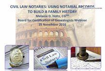 Researching Genealogy