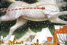 Illustrations and fantasy / Illustration by Vladimer Erko from The Snow Queen