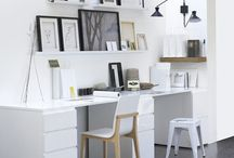 Office / Office space ideas, home office, office room, office decoration, office organization, office design