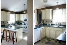 Kitchen / The kitchen needs some work. Long range plans might include some serious overhauling. Gathering ideas here!