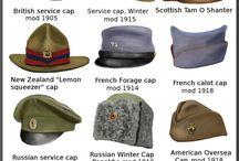 Wojskowe nakrycia głowy