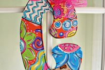 Door hangings / by Kim Snead