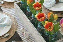 Centre de table/déco fleur