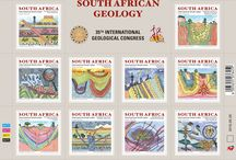 South African Geology Stamps / Geology in South Africa