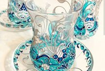 Art - painted glass
