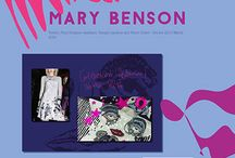 Mary Benson - Internship works
