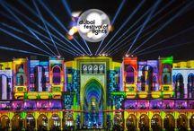 Dubái Festival of Lights / Un regalo para la vista pensado para toda la familia, el centro de Dubái se transformó  a una galería de arte al aire libre que muestra las piezas más impresionantes de arte luminoso.
