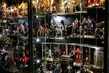 Figures and collectible displays