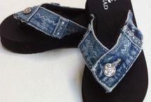 Idee :ciabatte.....tutto con jeans