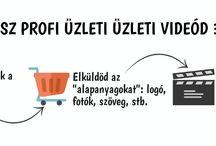 Üzelti Videó Infografika & illusztrációk | Video Marketing | www.reklam-rajzfilm-video.com