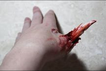 Special Effects Makeup / All the gory, bloody and revolting special effects makeup tutorials I have done so far.
