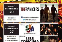 FRIDAY NIGHT LIVE / Hard Rock Cafe Venice weekly live music program